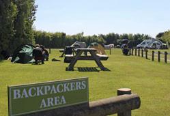 Heathfield Farm backpackers area