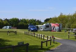 Heathfield Farm camping pitches