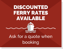 Discounted ferry rates available