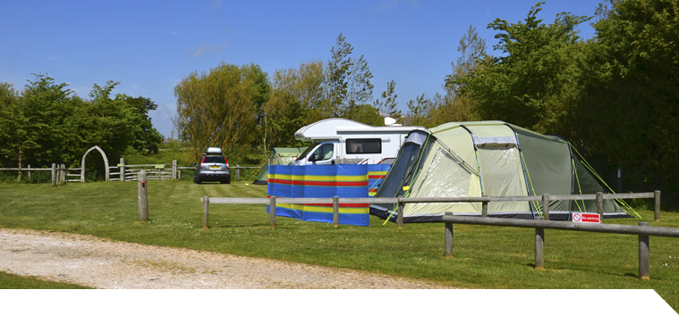 Isle of Wight campsite pitches